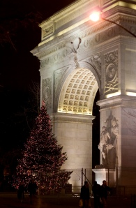 Washington Square Christmas Tree, 2007