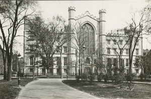 The University Building in 1891. Courtesy of the New York University Archives.
